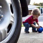 幼児の交通事故と判例