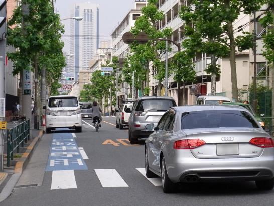 自転車の車道走行安全論には、嗤...